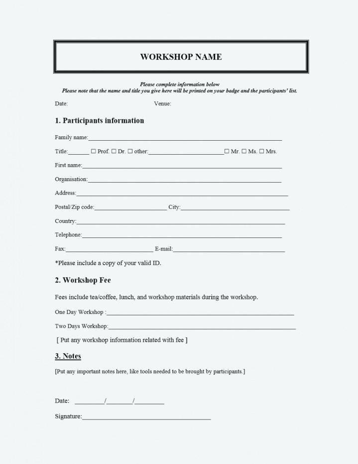 Medical Registration form Template – Flybymedia