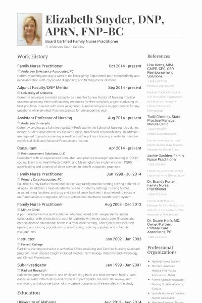 Medical School Resume