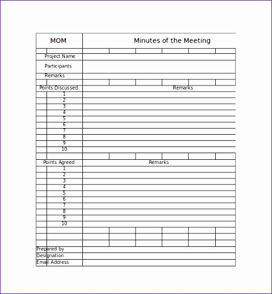 Meeting Notes Template Excel Srdul Lovely Meeting Minutes