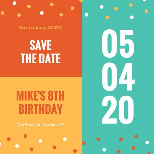 Meeting Save the Date Templates Choice Image Template
