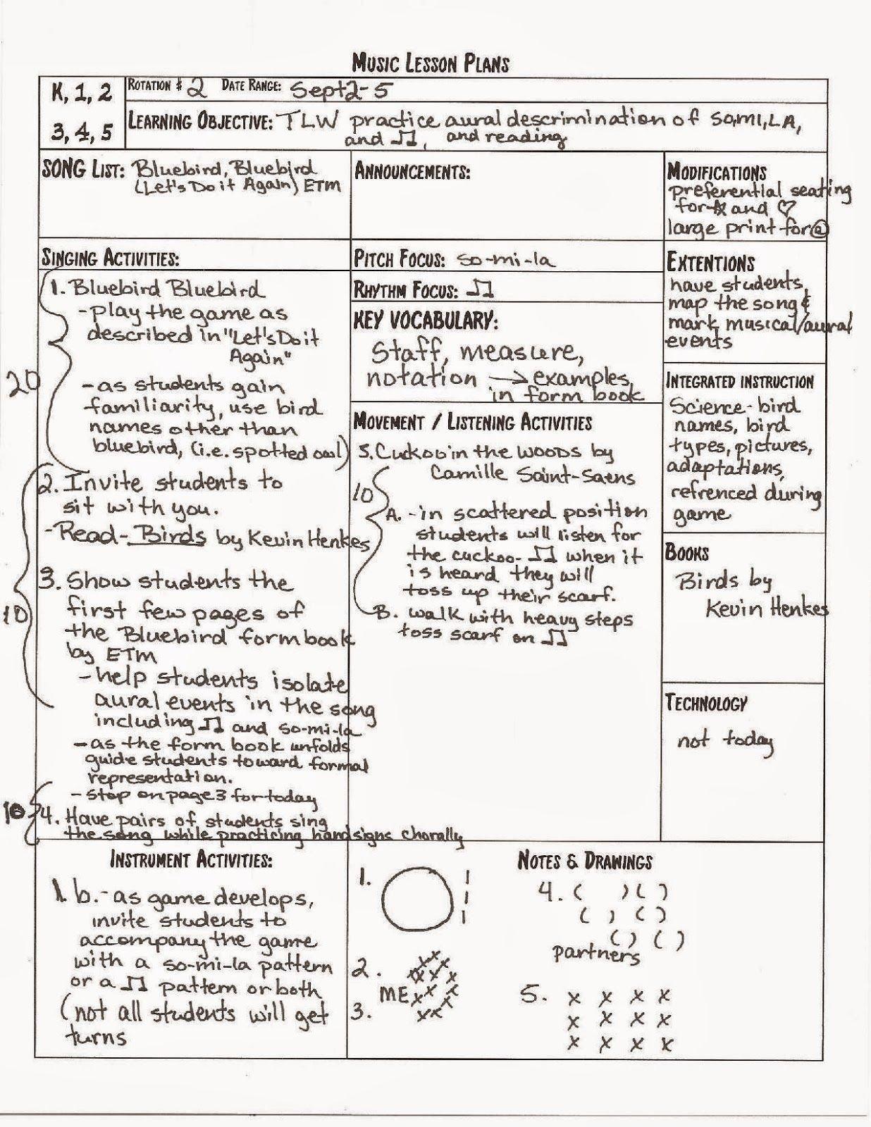 Melodysoup Blog Free Lesson Plan