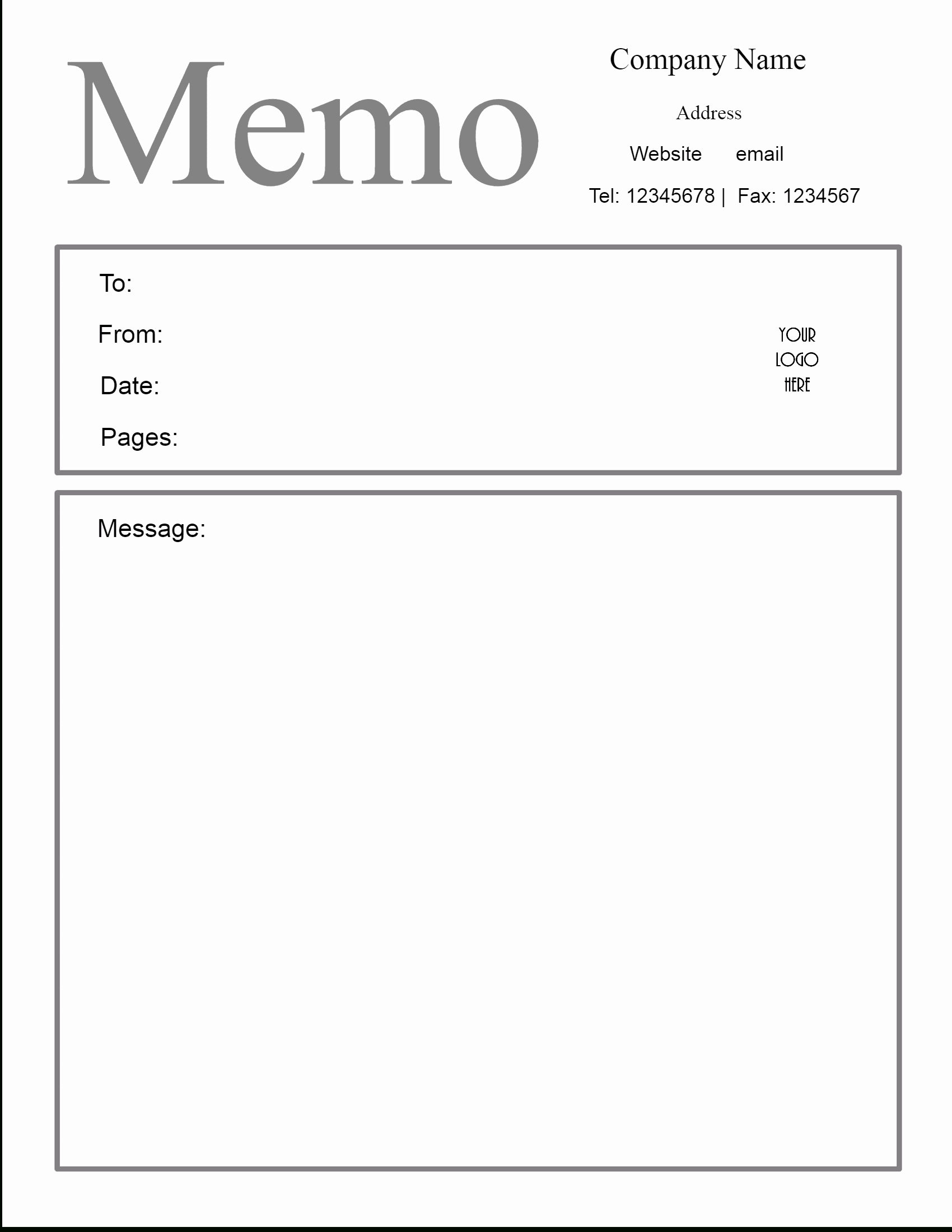 Memo Template Google Docs Informal Memo Template Madrat Co