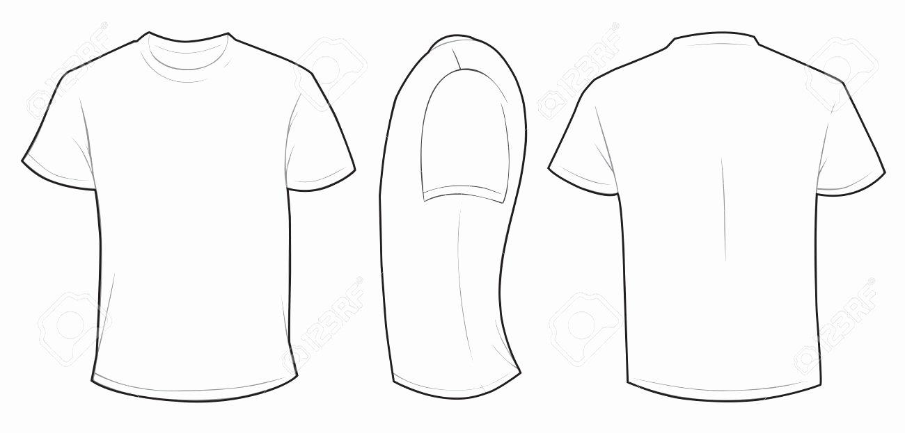 Mens T Shirt Template Templates Data