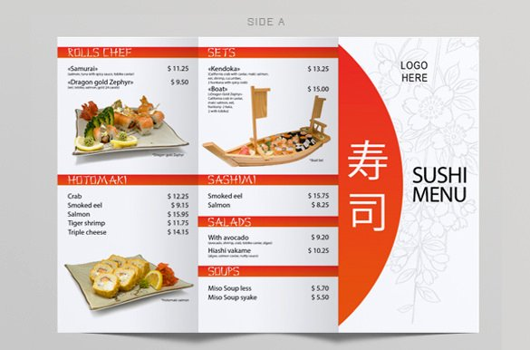 Menu Templates – 32 Free Psd Eps Ai Indesign Word