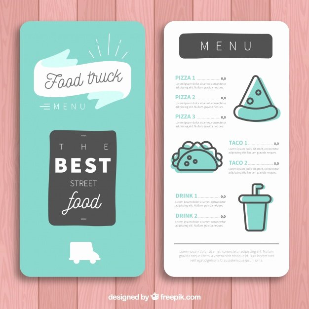 Menu Vectors S and Psd Files