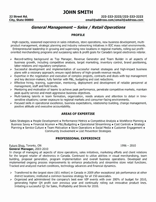 Merchandising Operation Manager Resume – Anhaeuser