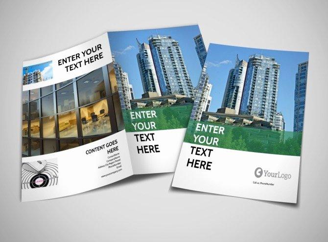 Mercial Real Estate Brochure Template