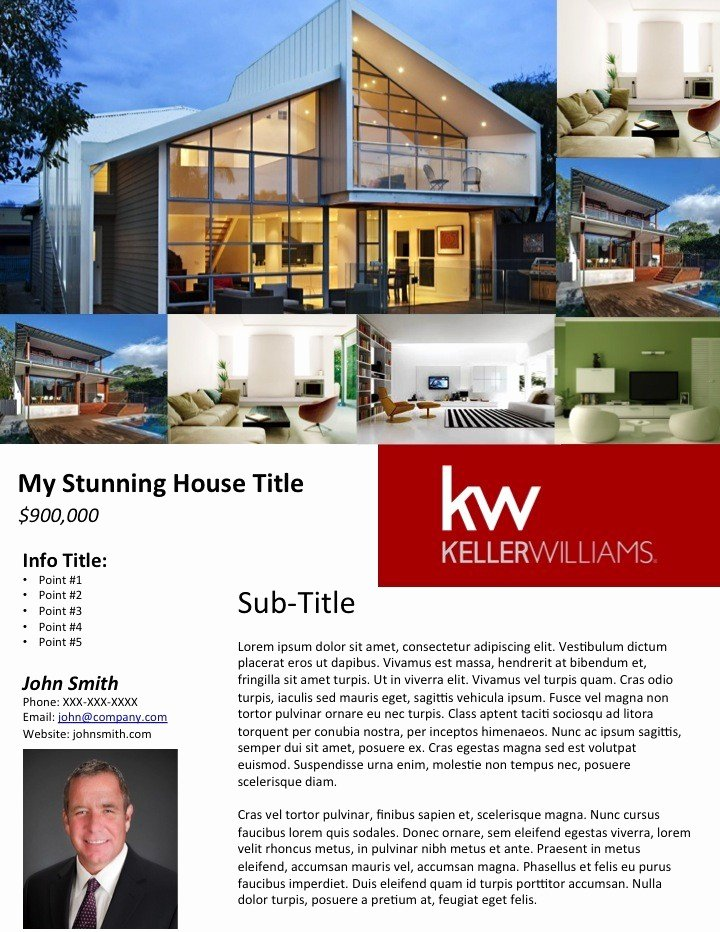 Mercial Real Estate Flyer Template Free Templates