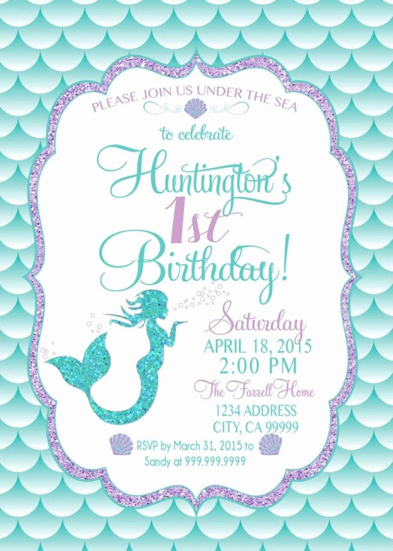 Mermaid Invitation withphoto – orderecigsjuicefo