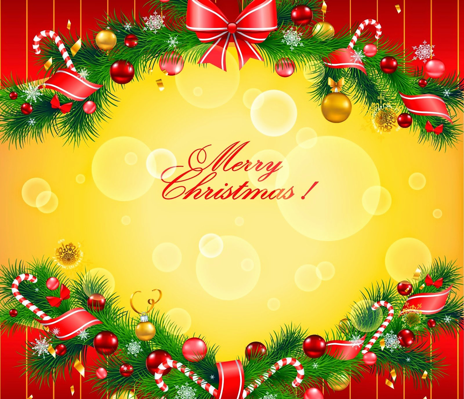 Merry Christmas Greeting Card Hd Images Free