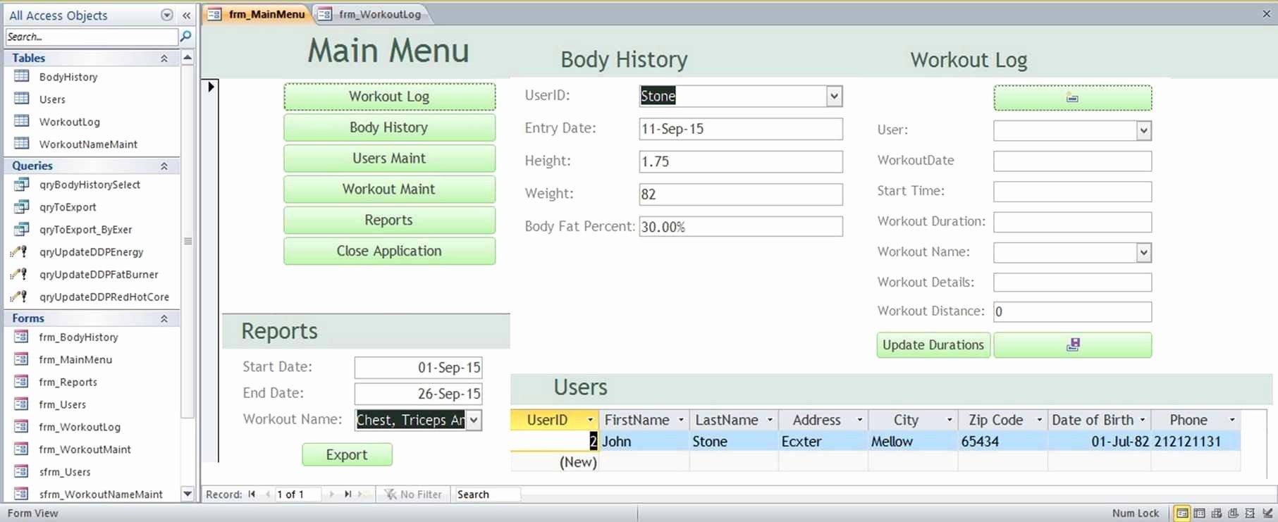 Microsoft Access Family Tree Genealogy History Templates
