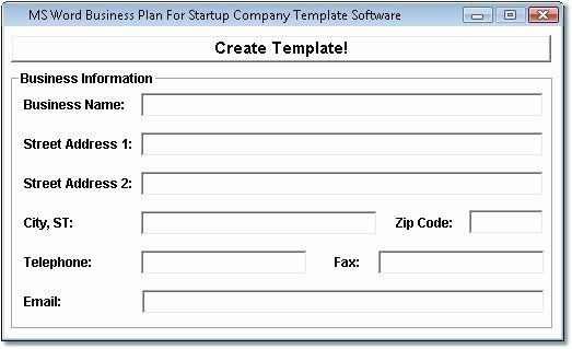 Microsoft Business Plan Templates Dailynewsreport970 Web