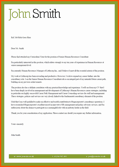 Microsoft Cover Letter Template to Pin On
