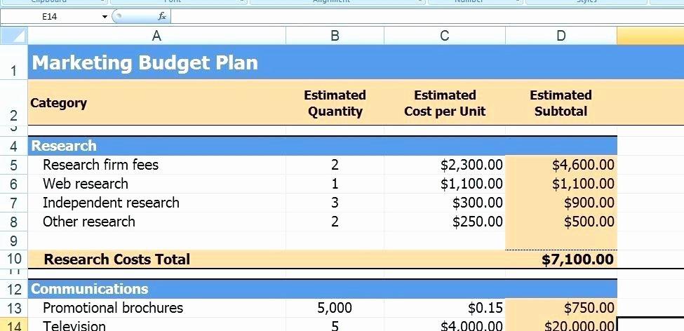 Microsoft Excel Business Plan Template – Fatfreezingub