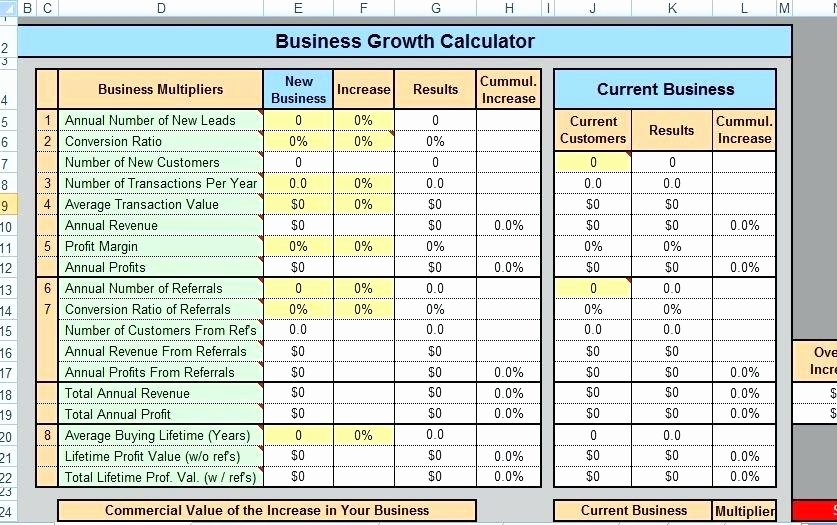 Microsoft Excel Business Plan Template – Fatfreezingub