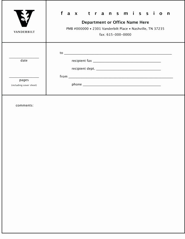 Microsoft Fice 2010 Fax Cover Sheet Template
