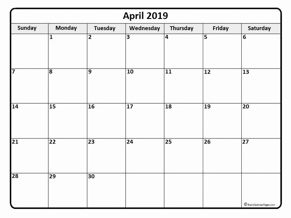 Microsoft Fice Calendar Template 2019