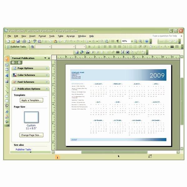 Microsoft Fice Calendar Template Beautiful Template