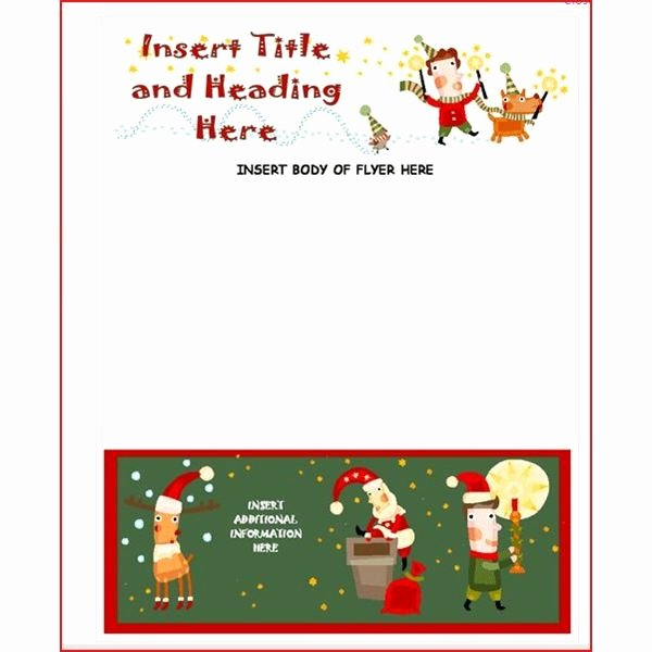 Microsoft Fice Christmas Template Invitation Template