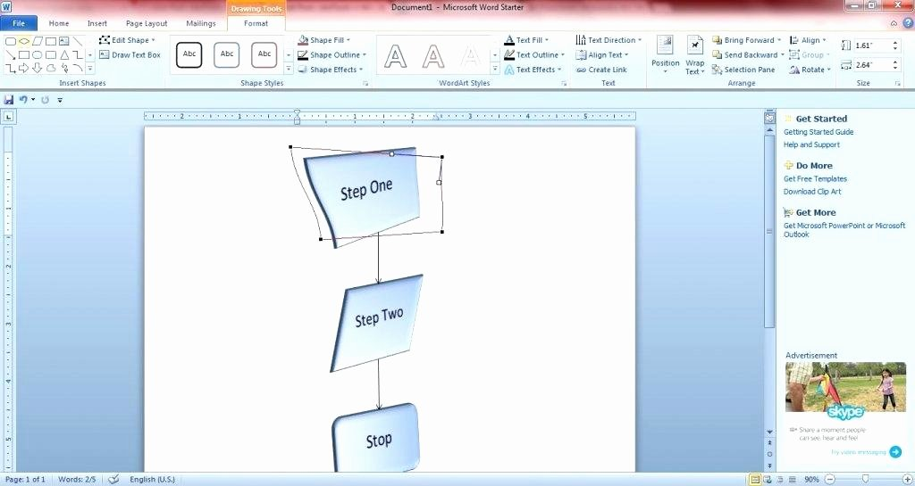 Microsoft Fice Flow Chart How to Create Flowcharts with