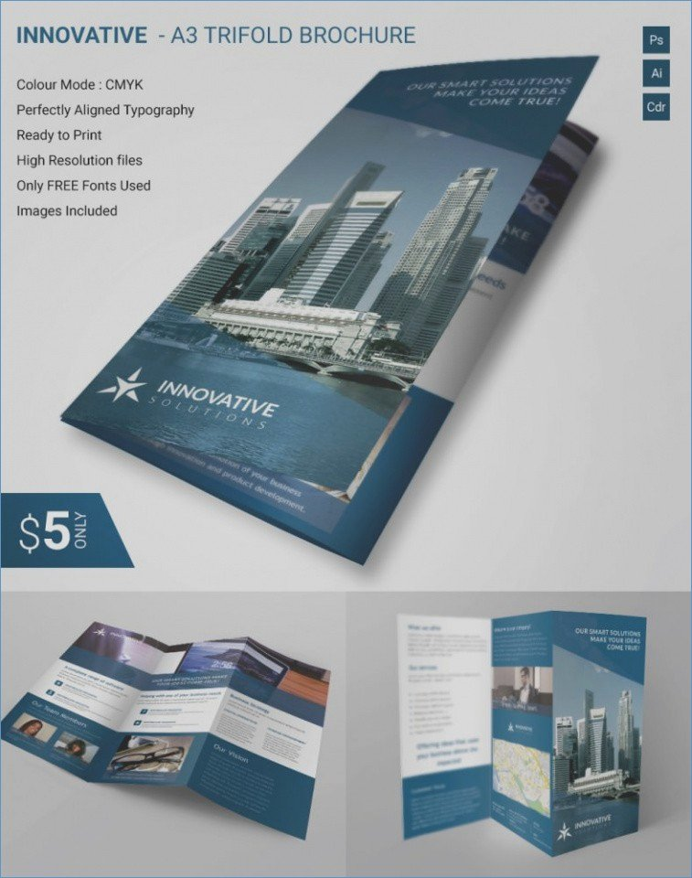 Microsoft Fice Publisher Brochure Templates Free