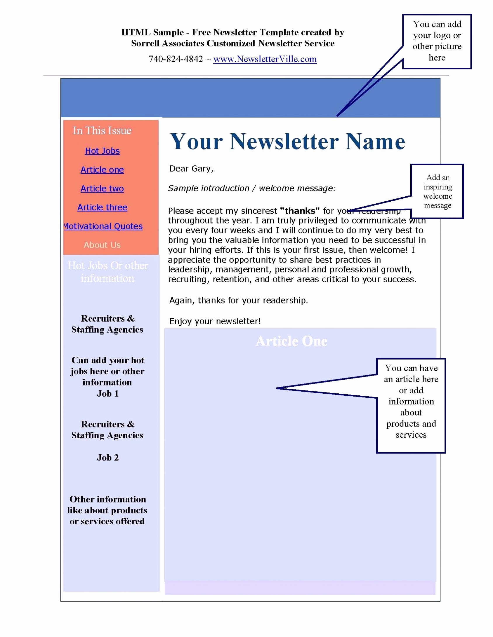 Microsoft Newsletter Templates Publisher Business Card