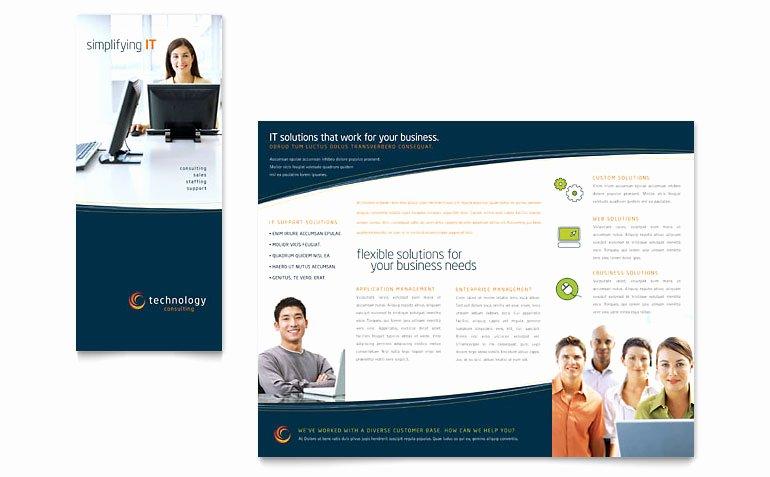 Microsoft Office Brochure Templates Free Free Tri Fold