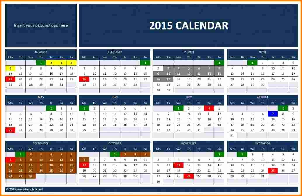 Microsoft Office Calendar Templates 2015