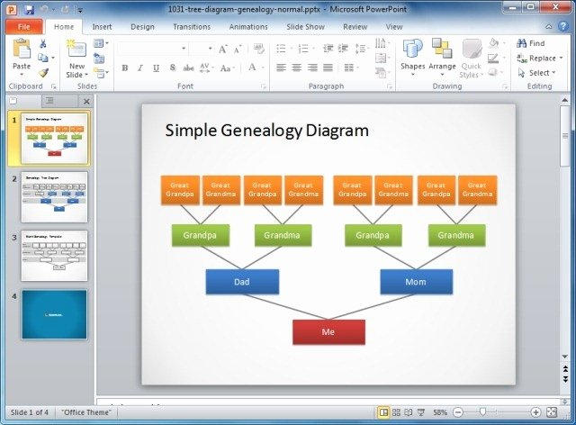 Microsoft Powerpoint org Chart Template Funkymefo