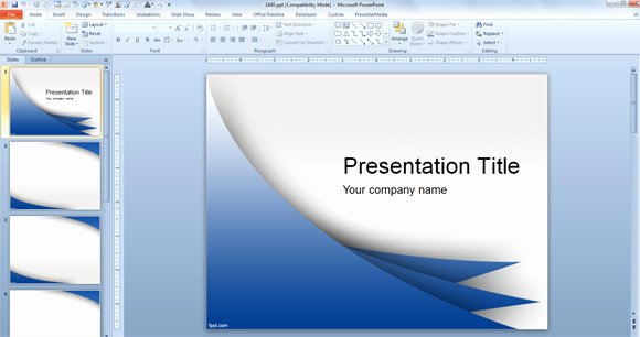 Microsoft Ppt Background