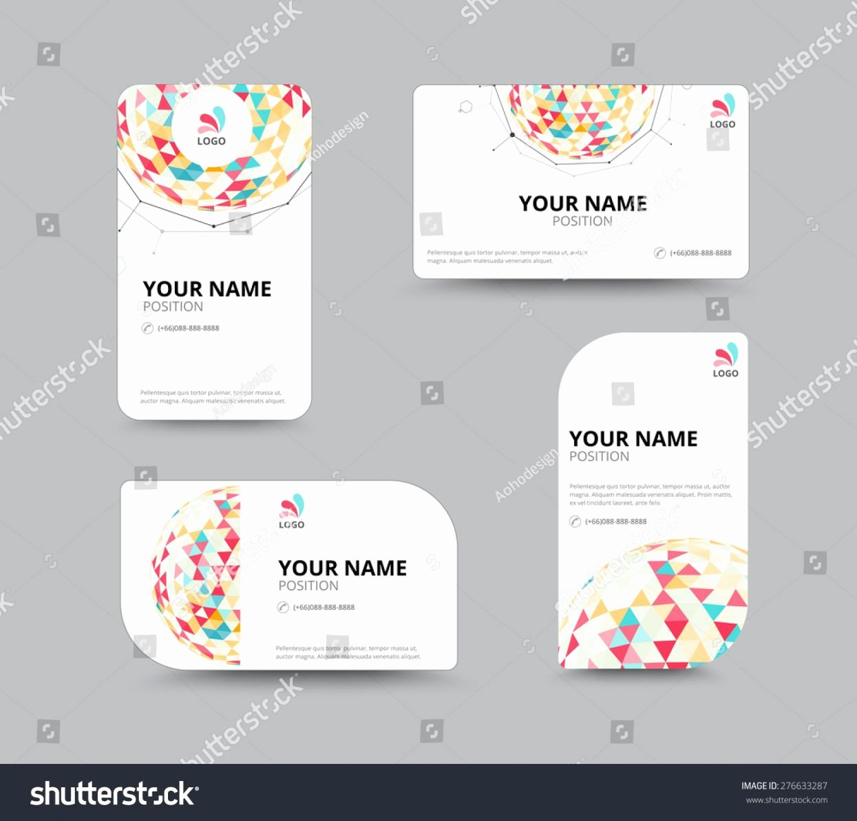 Microsoft Publisher Business Card Templates Image