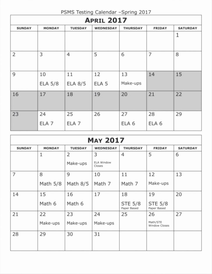 Microsoft Publisher Calendar Template