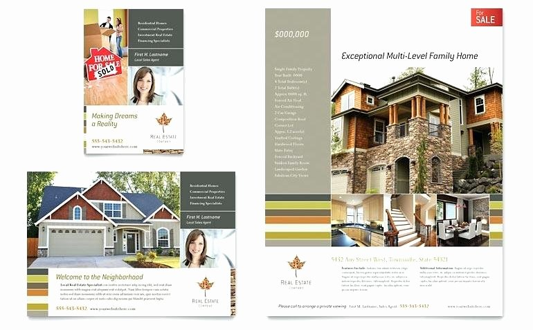 Microsoft Publisher Real Estate Flyer Templates Free