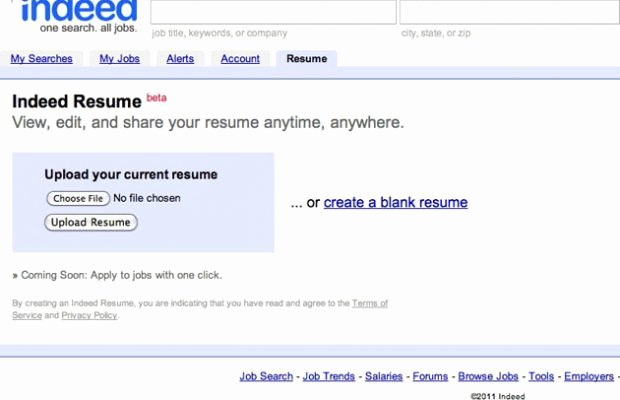 Microsoft Resume Templates How to Post A Resume Indeed