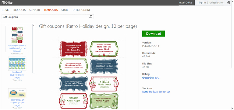 Microsoft S Best Free Diy Christmas Templates