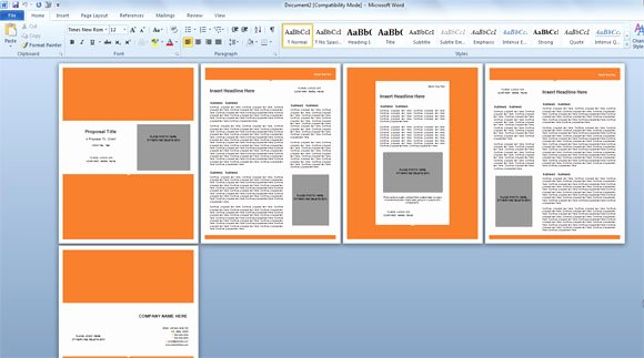 Microsoft Templates Word Presentation Template Word Word