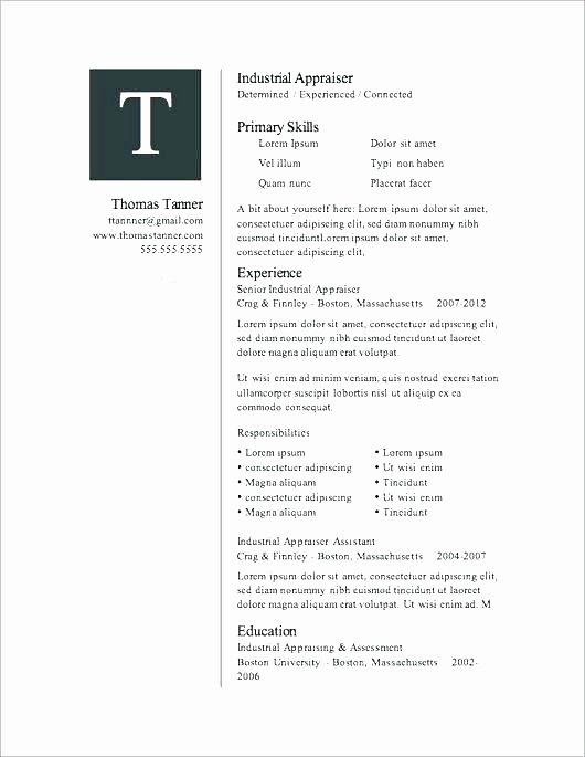 Microsoft Word 2007 Resume Templates – Foodandme