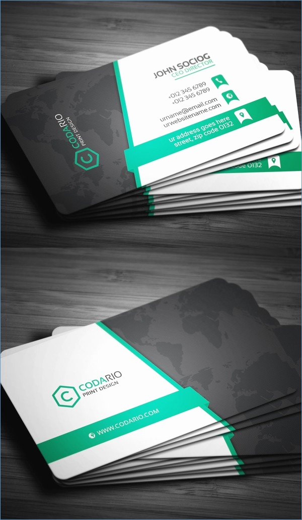 Microsoft Word 2010 Business Card Template