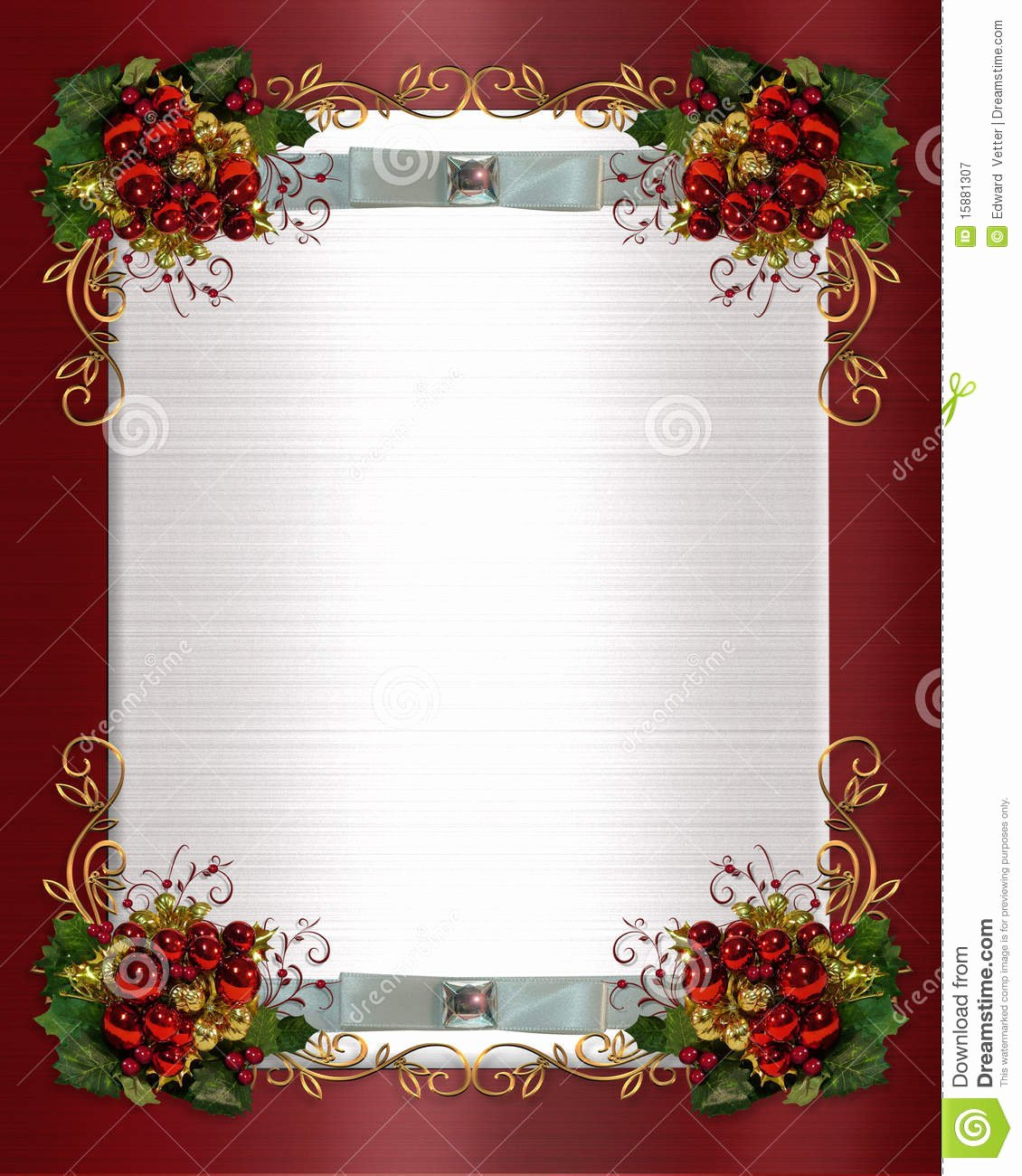 Microsoft Word Borders Templates Free Christmas