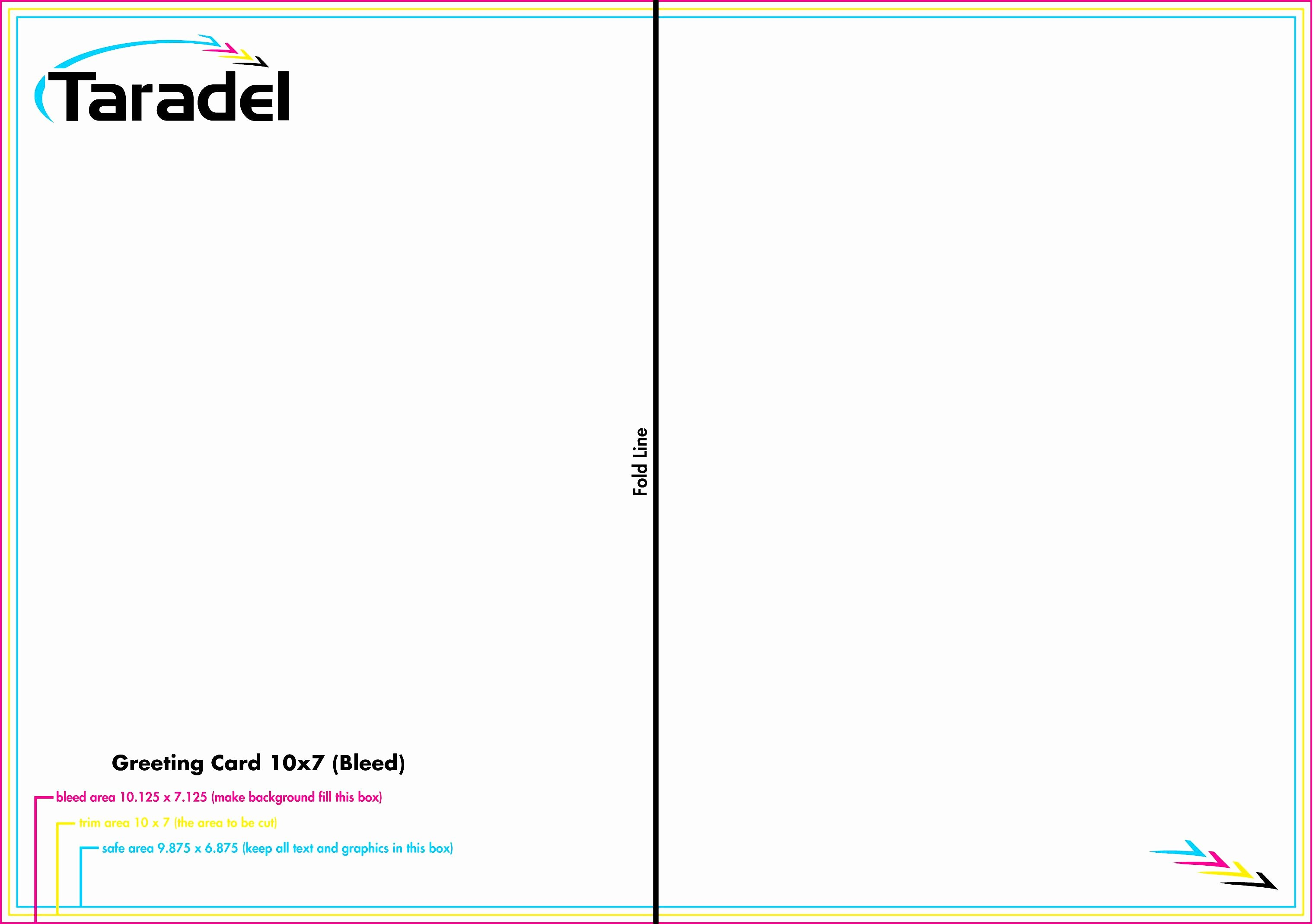 Microsoft Word Greeting Card Template Bamboodownunder