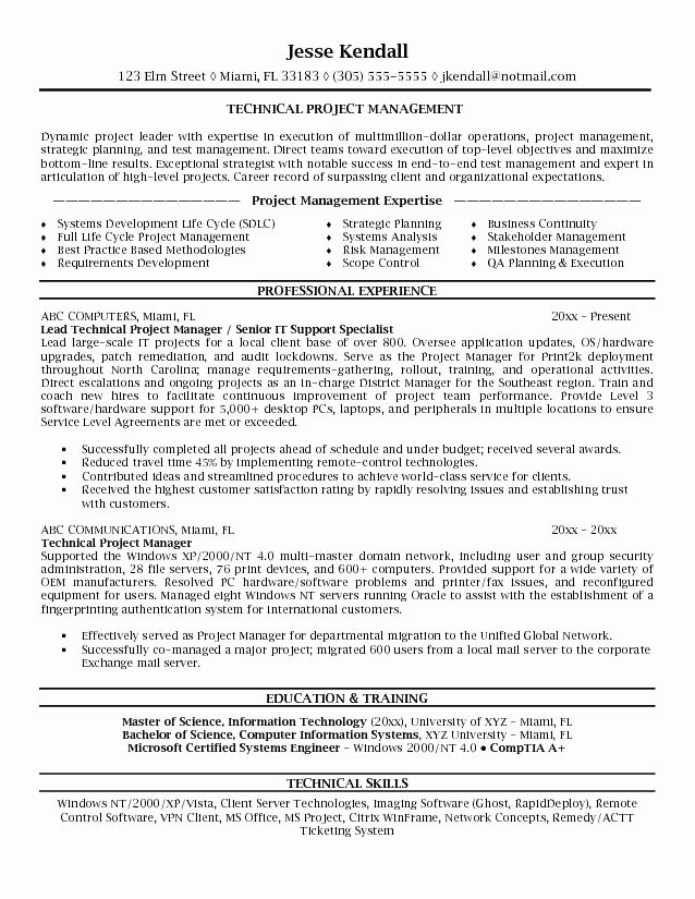 Microsoft Word Jk Technical Project Manager Project