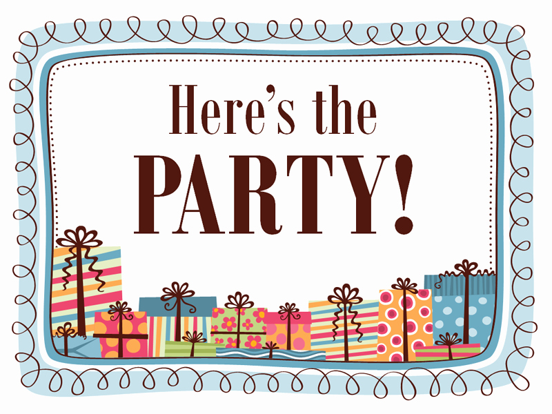 Microsoft Word Party Invitation Template