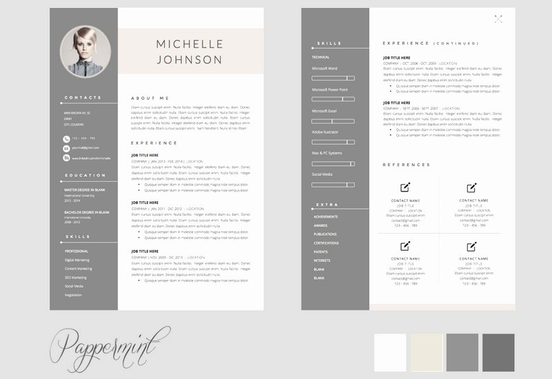 Microsoft Word Portfolio Template Free Beautiful
