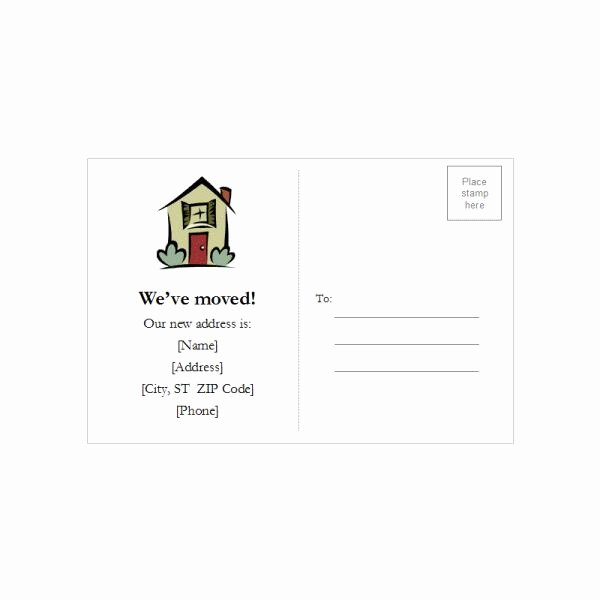 Microsoft Word Postcard Template Downloads