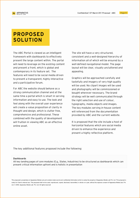 Microsoft Word Proposal Template Business Proposal