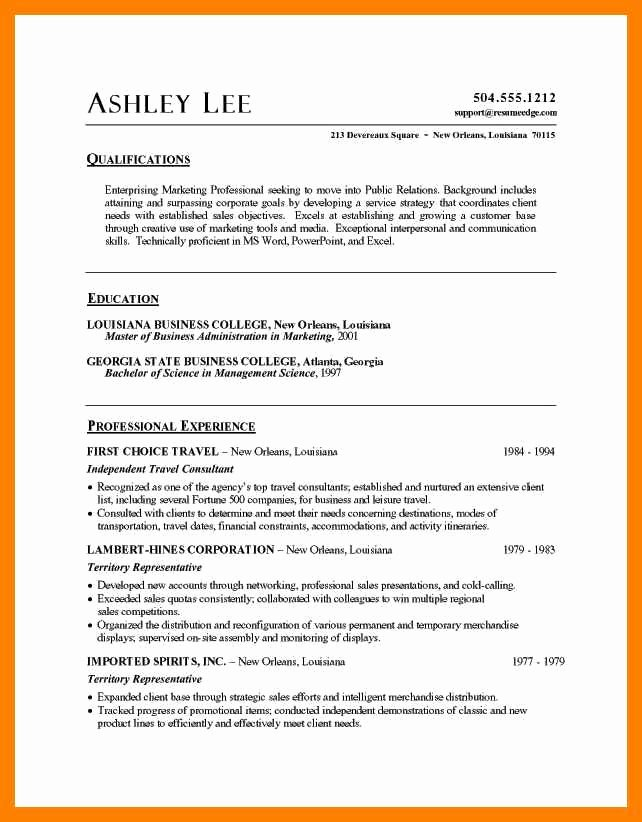 College Student Resume Template Microsoft Word – Latter