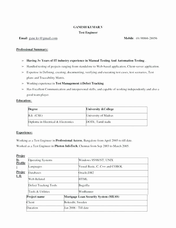 Microsoft Word Resume Template 2007 – Resume Pro