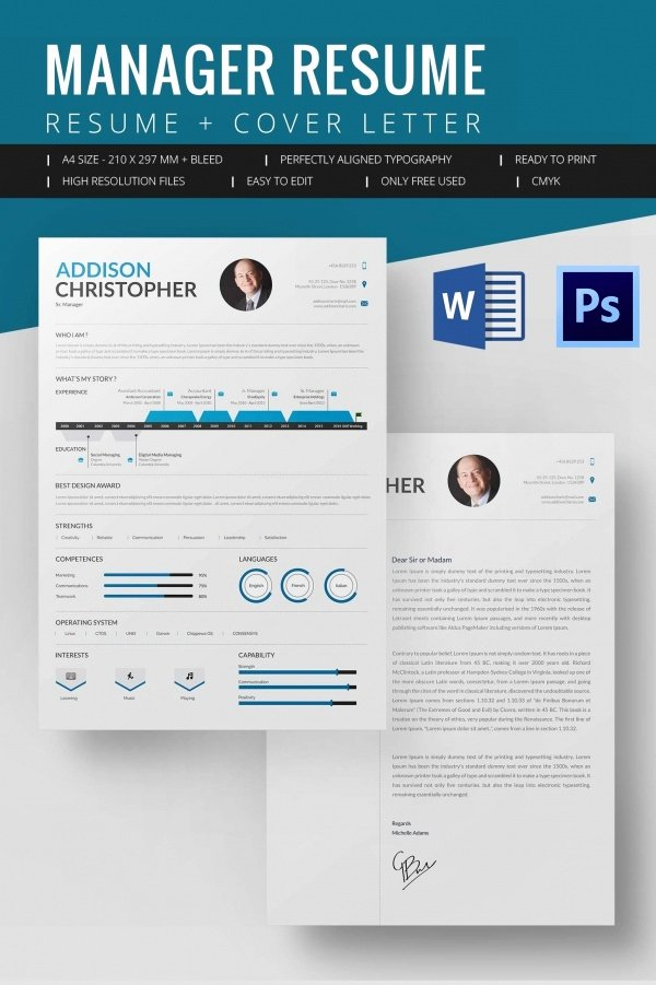 Microsoft Word Resume Template 2016