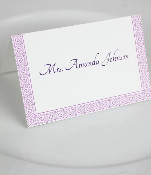 Microsoft Word Wedding Place Card Templates – Download & Print