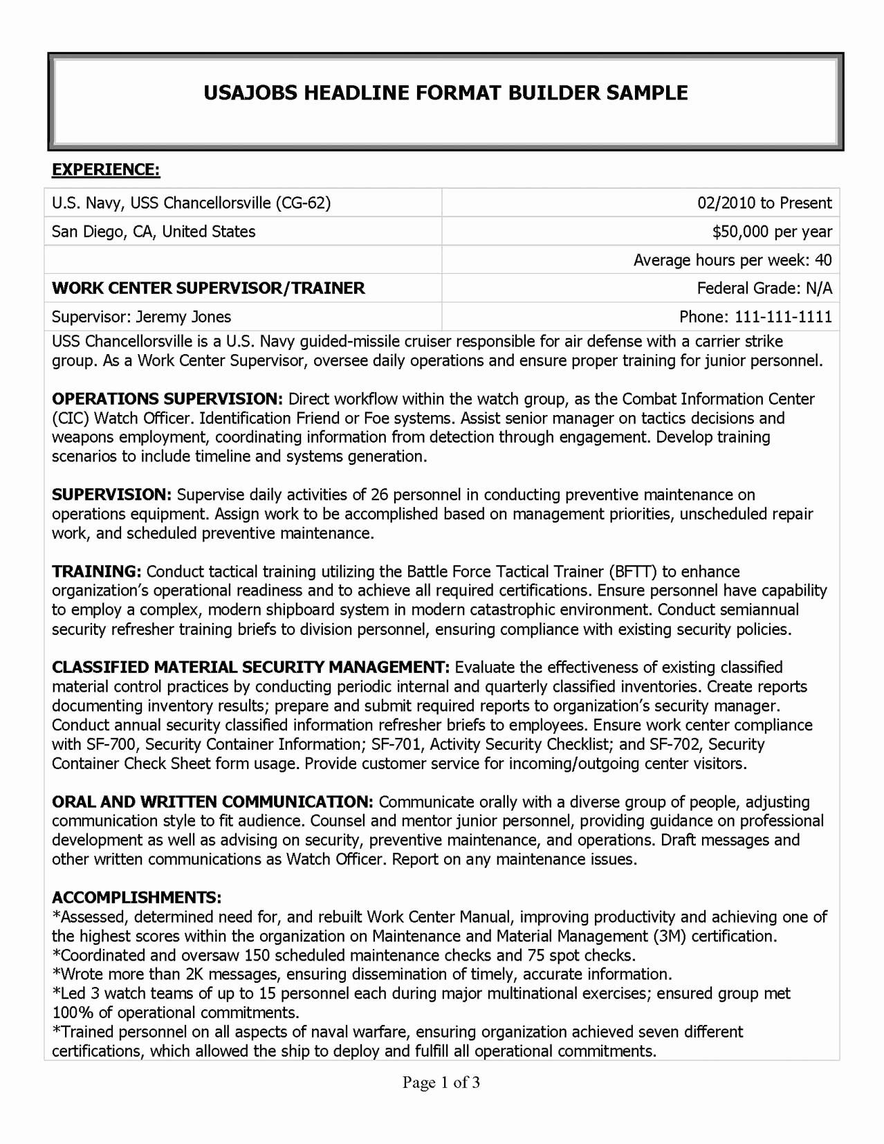 Military Job Descriptions for Resume Sidemcicek